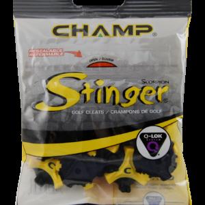 CHAMP STINGER Q-LOK YELLOW BLAKC RESEALABLE BAGS