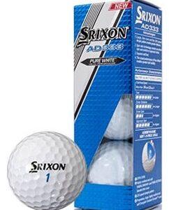 Srixon AD333 Sleeve of 3 Balls 2017