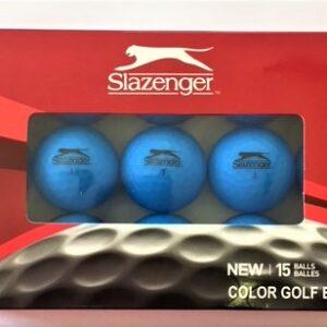 Slazenger Blue Matte Finish Balls