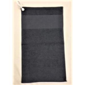 400gsm 30 x 50 golf towel eyelet & clip
