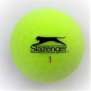 Slazenger Matte finish green golf ball