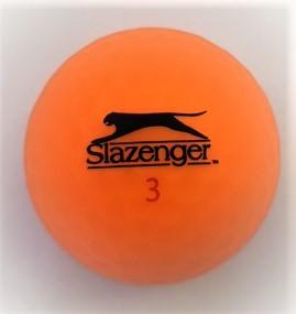 Slazenger Matte finish orange golf ball