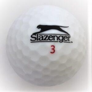 Slazenger Matte finish white golf ball