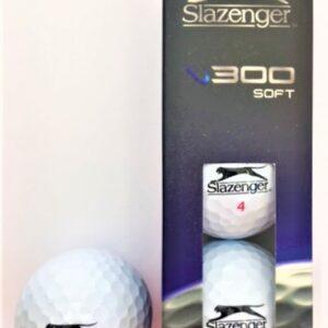 Slazenger V300 Soft White Ball Sleeve 3