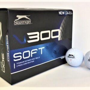 Slazenger V300 White Golf ball pack of 24